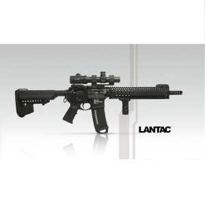 LANTAC Dragon Muzzle Brake DGN556B ДТК резьба 1-2x28 калибр .223 5.56