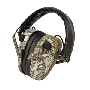 Caldwell E-Max Low Profile Electronic Hearing Protection, Mossy Oak Break Up активные наушники