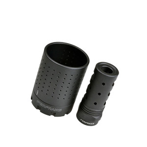 Ferfrans CQB Modular Muzzle Brake Mount & Concussion Reduction Device New v1.1 ДТК для AR15 и аналогов с резьбой 1/2x28 и 223 калибром