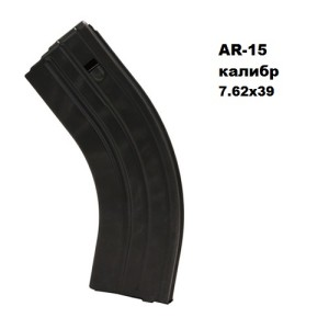 C Products Defense 3062041185CPD 7.62×39 SS Matte Black Black Follower 30 Round Per 1 магазин AR-15 7.62×39 30 мест