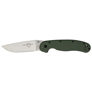 Ontario Knives RAT-1 Folder Knife 8848 OD Green
