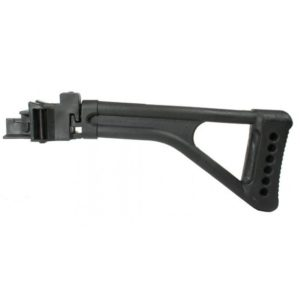 Tapco STK06150 Black Folding Stock Stamped Receiver приклад со складным механизмом для АК47 и карабинов Сайга с прикладом по типу весло