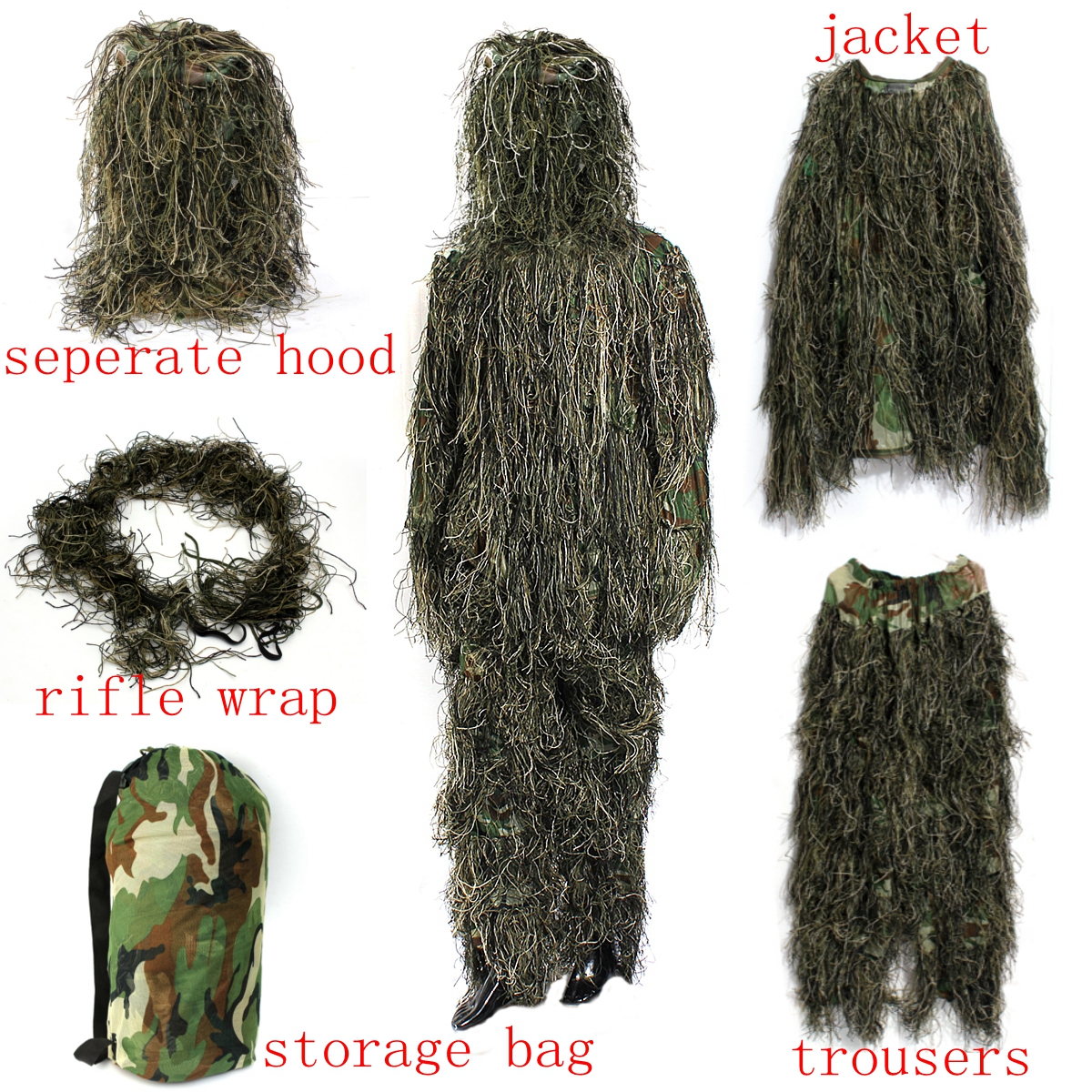 Костюм Ghillie Suit (7)