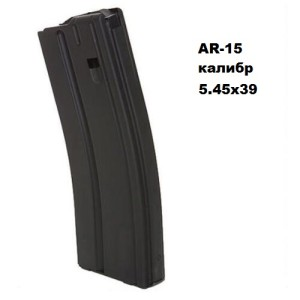 C Products Defense 3054041185CPD 5.45×39 SS Matte Black Black Follower 30 Round магазин AR-15 5.45×39 30 мест