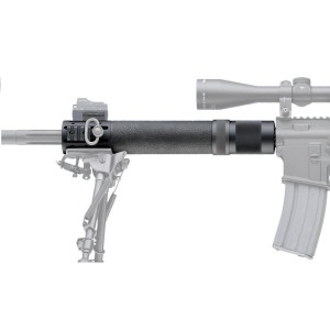 Hogue AR-15 M-16 Rifle Length Free Float Forend with OverMolded Gripping area and Accessory Attachments
