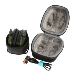 co2CREA-Hard-Travel-Storage-Carrying-Case-Bag-for-Howard-Leight-Impact-Sport-Earmuff-кейс-для-наушников