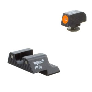 Trijicon GL601-C-600836 HD XR Night Sight Set Orange Front Outline for Glock Pistols комплект мушка целик