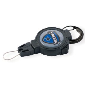 T-REIGN Large Retractable Gear Tether тренчик большой, длина кевларовой стропы 122см