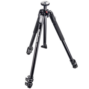 Manfrotto MT190X3 3 Section Aluminum Tripod Black штатив